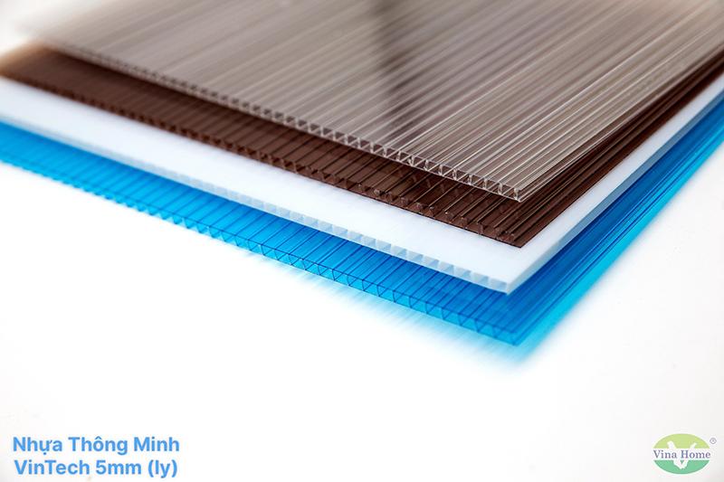 Tấm Nhựa Thông Minh VinTech Rỗng 5mm (ly)
