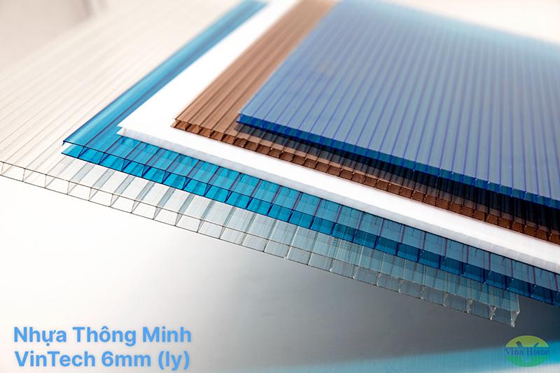 Tấm Nhựa Thông Minh VinTech Rỗng 6mm (ly)