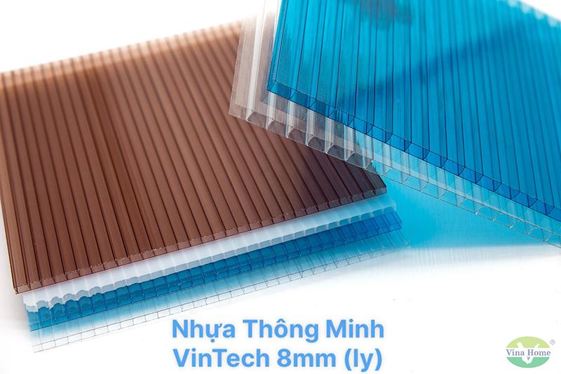 Tấm Nhựa Thông Minh VinTech Rỗng 8mm (ly)